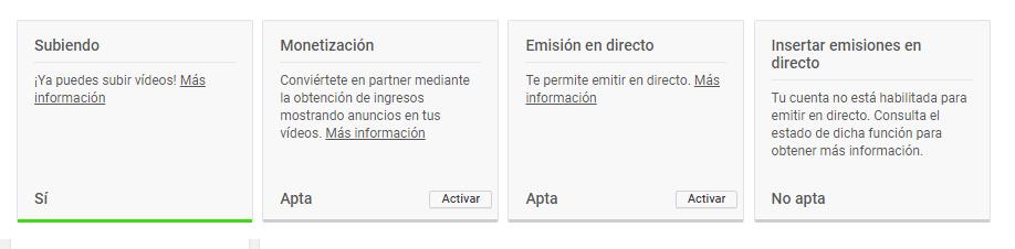 Activar monetización Adsense con youtube