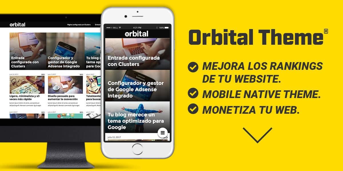 Orbital Theme | La Mejor Plantilla SEO para WordPress